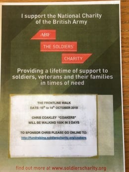 Chris Coakley - Charity Walk