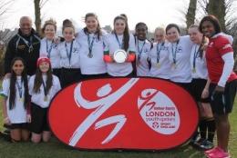 Hounslow U19 Girls win London Youth Games