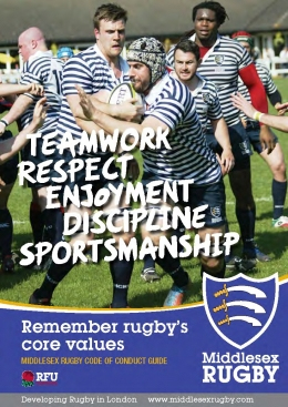 Remember Rugby's Core Values