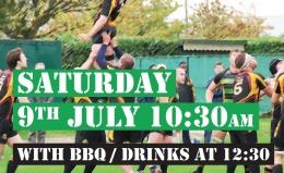 Senior Rugby Pre-Season Training - 9th July 2016