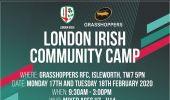London Irish Community Camp - This February!