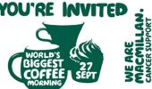 Macmillan Coffee Afternoon 27th September