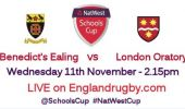 Grasshoppers players in NatWest Schools Cup